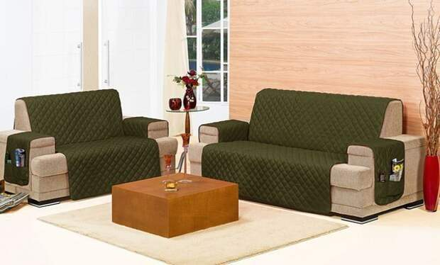 Чехол для дивана. Интересная идея