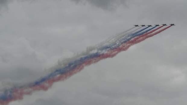 ФАН публикует уникальные кадры генеральной репетиции авиапарада над Москвой