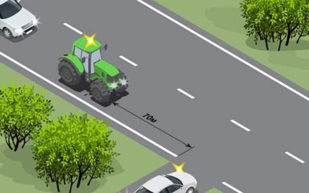 Трактор, за которым скрывается смертельная опасность