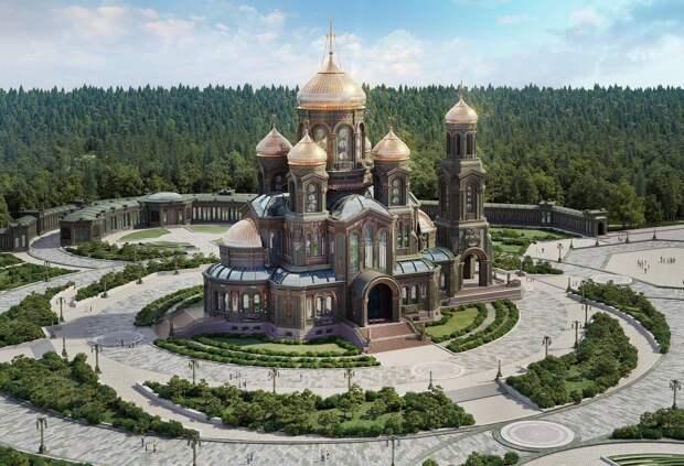 Епископ Стефан: освящение и открытие Главного храма Вооруженных сил РФ отложено