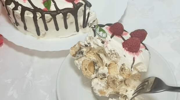 Нежнейший торт для настоящих гурманов из простых ингредиентов