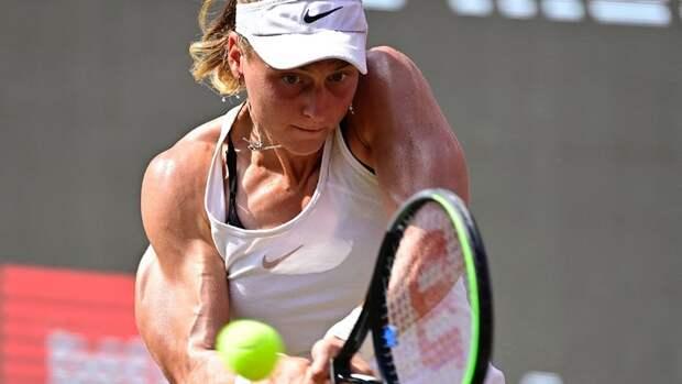 Самсонова отдала должное Бенчич после победы на турнире в Берлине