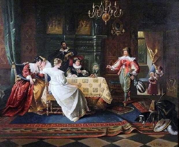 художник Жан де ла Хоз (Jean de la Hoese) картины – 11