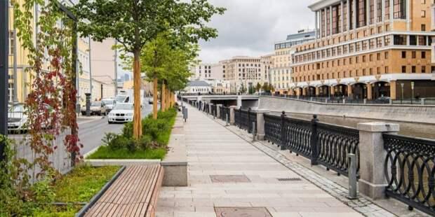 Собянин: В Москве в 2021 году благоустроено свыше 5 тыс городских объектов Фото: М. Мишин mos.ru