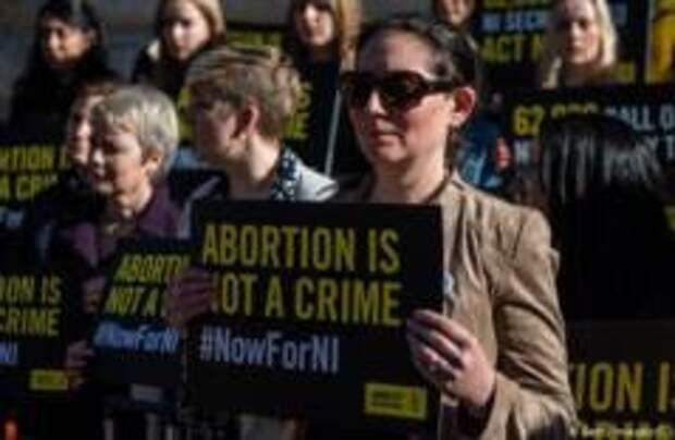 В Северной Ирландии могут легализовать аборты и гей-браки