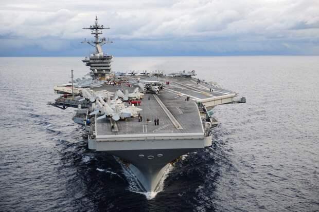ВМС США заявляет о новой вспышке коронавируса на авианосце Theodore Roosevelt