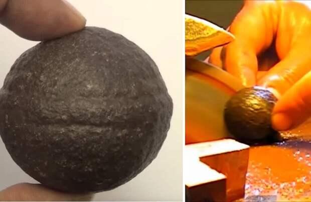 Видео: Загадочные сферы возрастом 2,8 млрд лет удалось разрезать — что было внутри