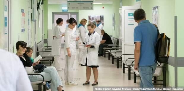 Собянин утвердил выплаты студентам и ординаторам за работу в поликлиниках . Фото: Д.Гришкин, mos.ru