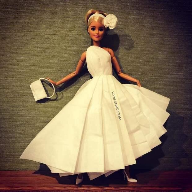 Свадебные платья из салфеток (46 шт.)