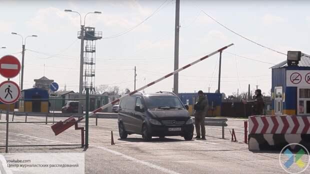 Крым закрывает пункт пропуска на границе с Украиной