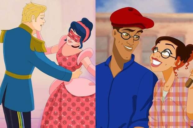 Что будет, если соединить Disney и «Леди Баг»?