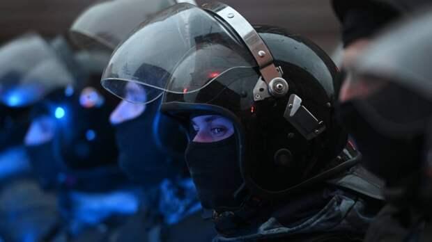 МВД России назвало количество участников незаконных митингов