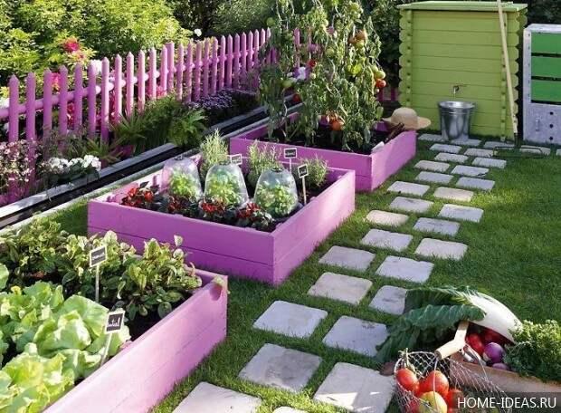 красивая дорожка для сада