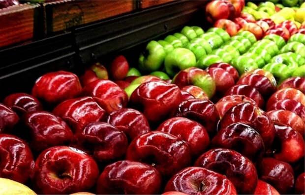 Обработанные воском яблоки могут быть опасны. / Фото: eda-land.ru