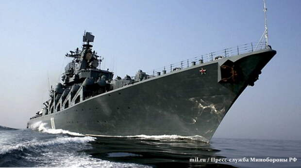 Baijiahao: трюк ВМФ России спас китайские корабли от столкновения с флотом США