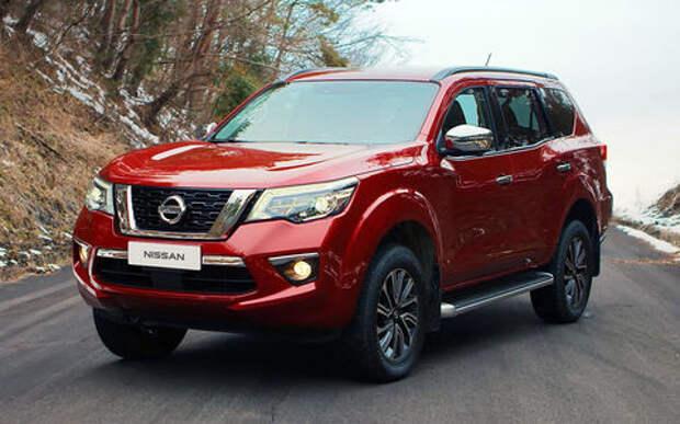 Nissan Terra — рамный ответ Pajero Sport и Fortuner
