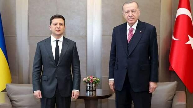 Зеленский за два года уже четвёртый раз встречается с Эрдоганом. Фото: Офис президента