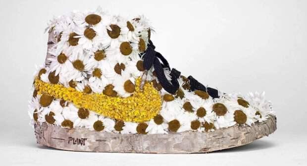 Деревянные найки Кристофа Гине: как вдохнуть растительную жизнь встарые бренды
