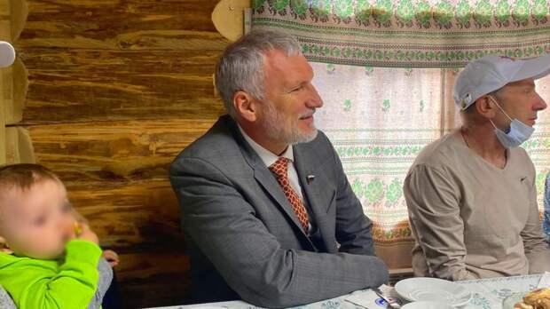 """Председатель """"Родины"""" пообщался с устюжанами в ходе визита в Вологодскую область"""