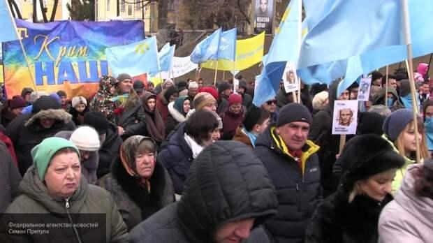 «Будет очередная «небесная сотня»: на Украине оценили желание «меджлисовцев» пойти на Крым