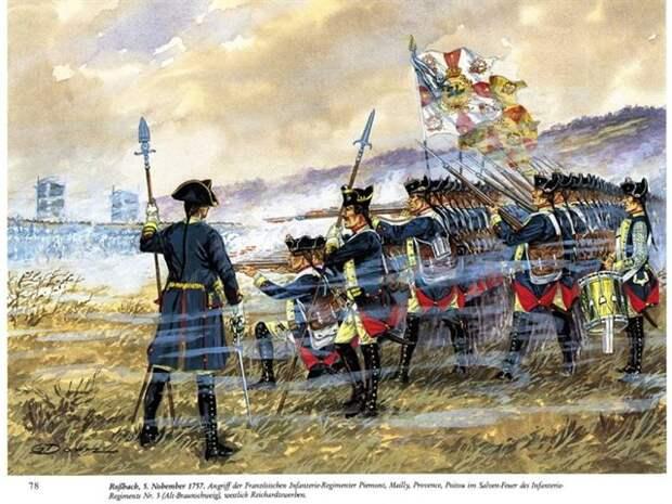 Как прусская пехота стала лучшей в Европе