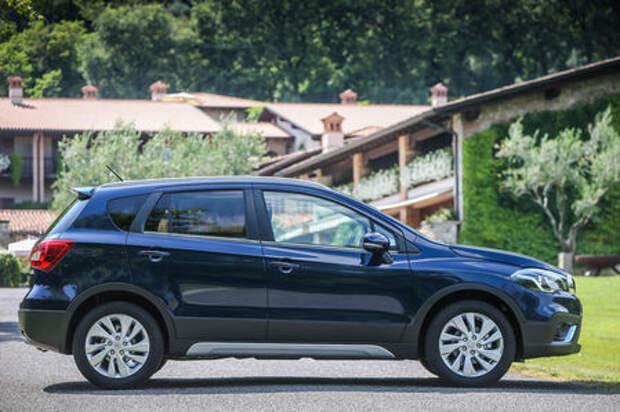 Появились российские комплектации обновленного Suzuki SX4