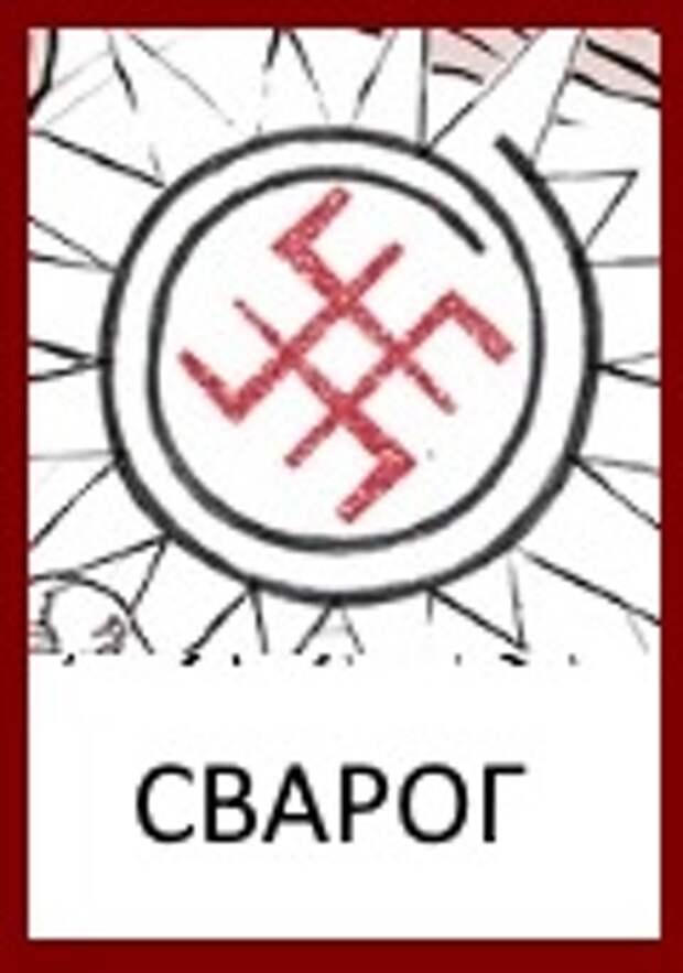 Славянские Боги: знак Бога Сварога