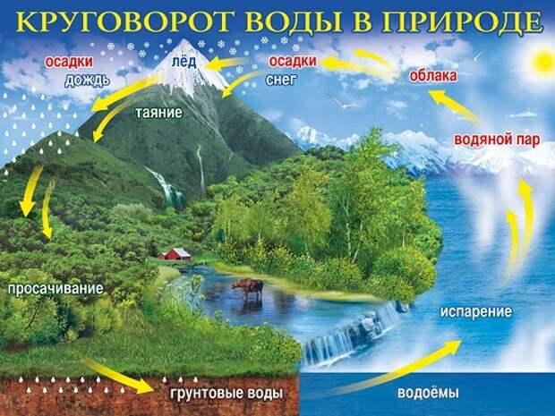 Странности круговорота воды в природе
