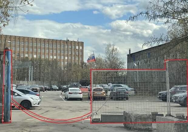 На Михалковской был восстановлен доступ к общественной стоянке