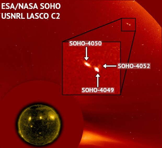 NASA уже не отрицает, что возле Солнца что-то есть