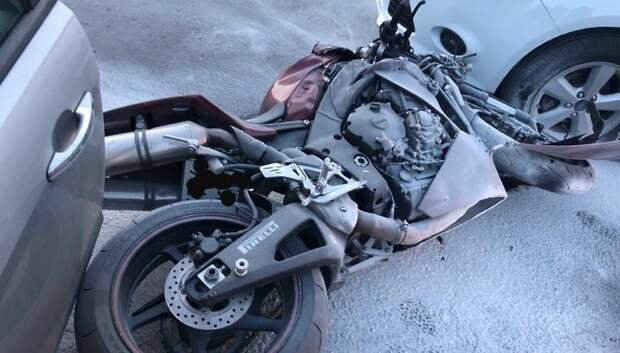 Названы самые частые причины аварий с участием мотоциклов в Подмосковье