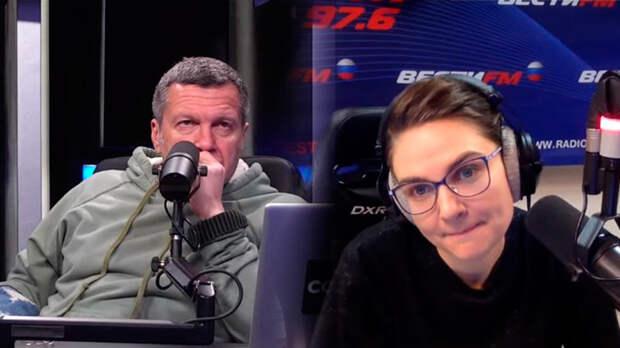 Шафран обвинила Соловьева в демагогии, за что он ее подверг критике и уволил в прямом эфире