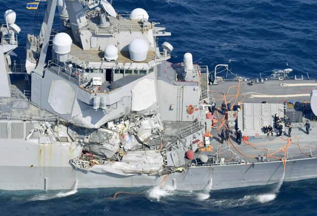 ВМС США не готовы к войне. В Конгрессе заслушали отчёт о состоянии американских военно-морских сил.