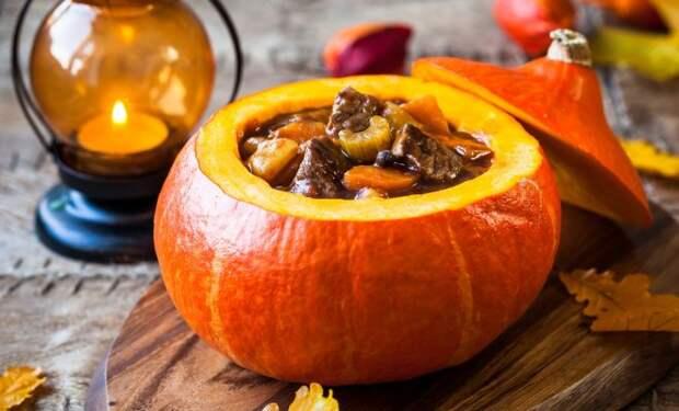 Блюда в тыкве – 10 необычных рецептов