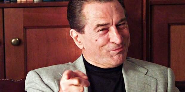 Роберт Де Ниро стал главным злодеем Голливуда