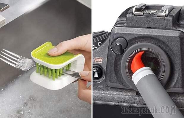 12 практических щеток, которые помогут отчистить все уголки в доме