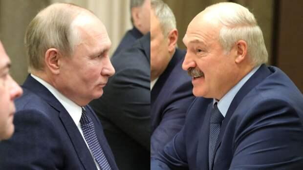 Путин и Лукашенко обсудили развитие экономических отношений на переговорах