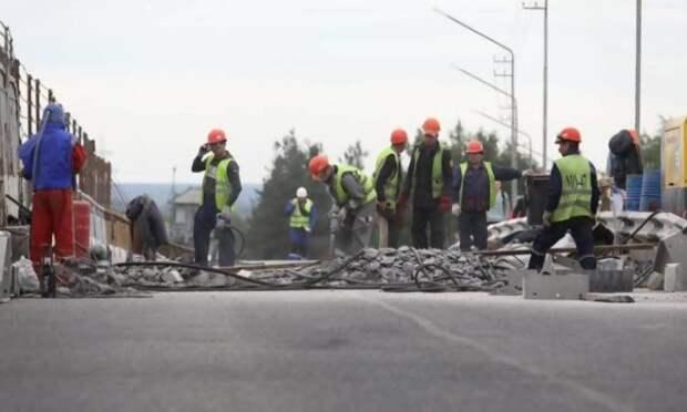 Ремонт Северодвинского моста вАрхангельске идёт пографику. Сроки закрытия движения— всиле
