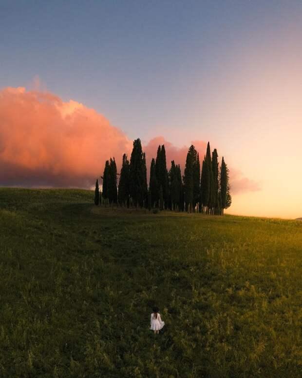 Города и природа на атмосферных тревел-фото Давиде Анзиманни