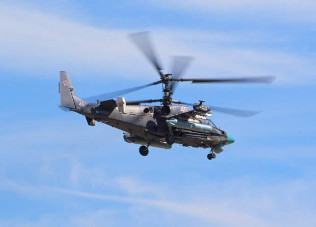В России начались испытания модернизированного вертолета Ка-52