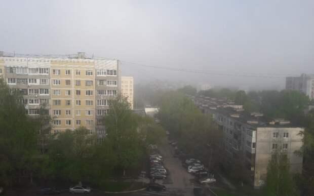 Рязанцев предупредили о сильном тумане и ливне утром