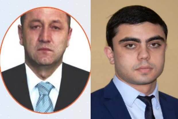 Гаглоев и Фадзаев. Фото: Парламент республики