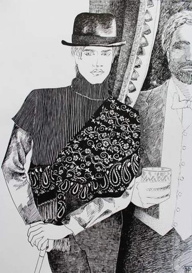 Дориан Грей на рисунках разных художников