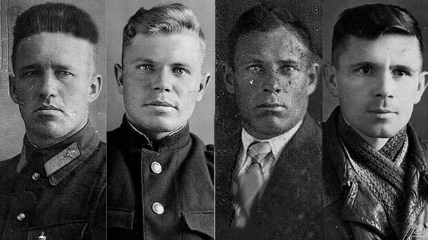 Максим Тюриков, Сергей Аношко, Виктор Пискарев и Алексей Смирнов