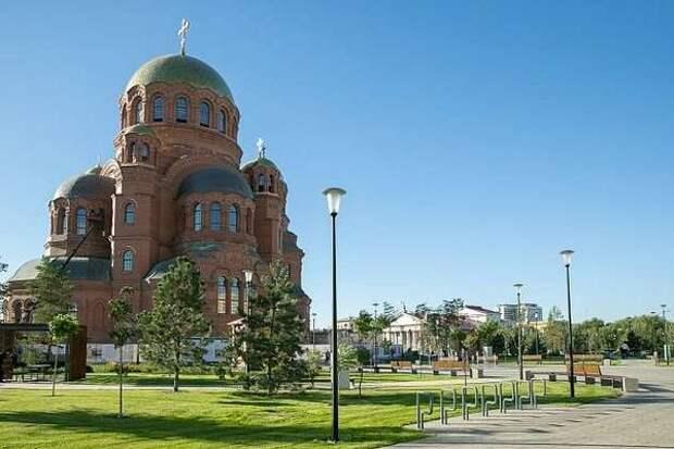В Волгоградской области откроется выставка  рисунков с изображением храма