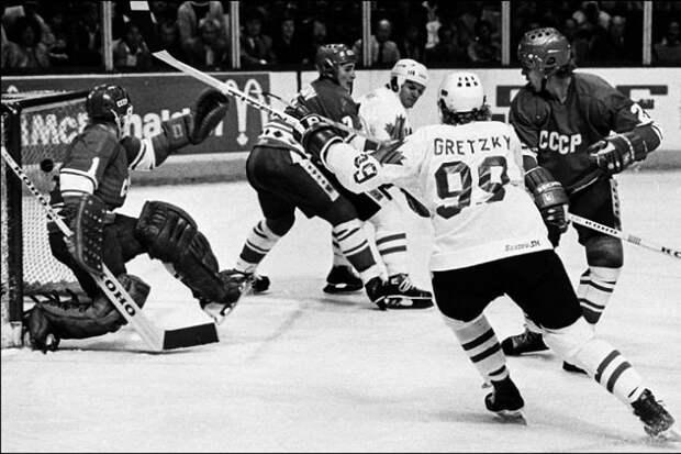 Финал Кубка Канады 1981 год. СССР-Канада 8:1, все голы