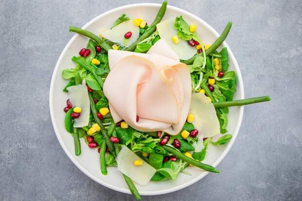 салат с гранатом