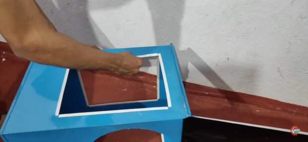 Мощный комнатный охладитель работающий на воде своими руками