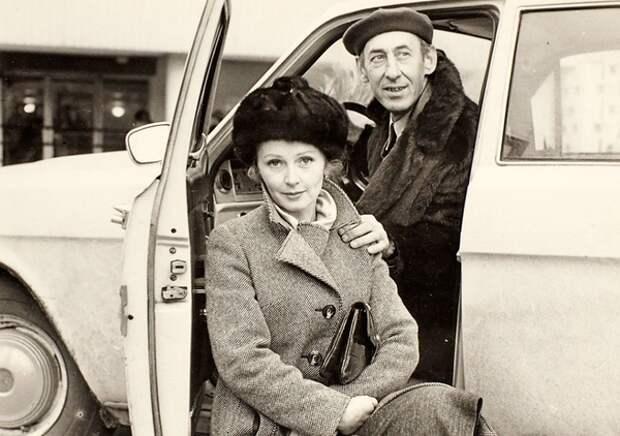 Владимир Басов и Валентина Титова, после женитьбы