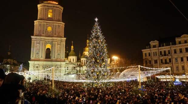 Софийская площадь в Киеве, Украина